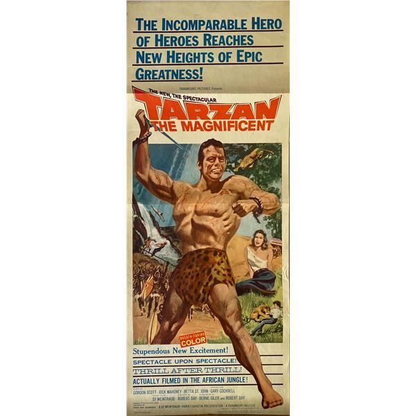 Tarzan the Magnificent 1960 original vintage insert card