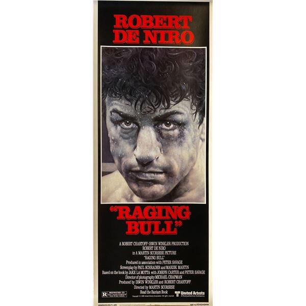 Raging Bull 1980 original vintage insert card