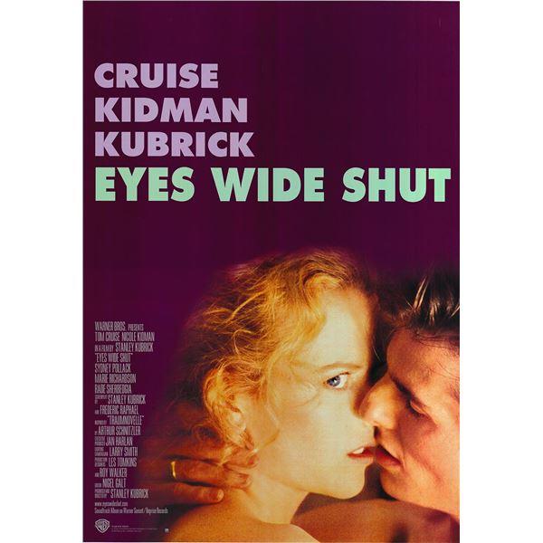 Eyes Wide Shut 1999 original international one sheet movie poster
