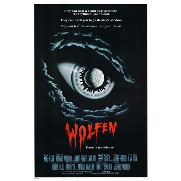 Wolfen 1981 original vintage movie poster