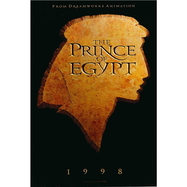 The Prince of Egypt 1998 original advance one sheet movie poster
