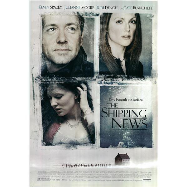 The Shipping News 2001 original movie poster