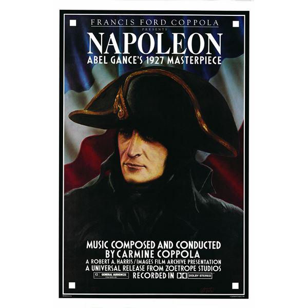 Napoleon 1981 original vintage movie poster