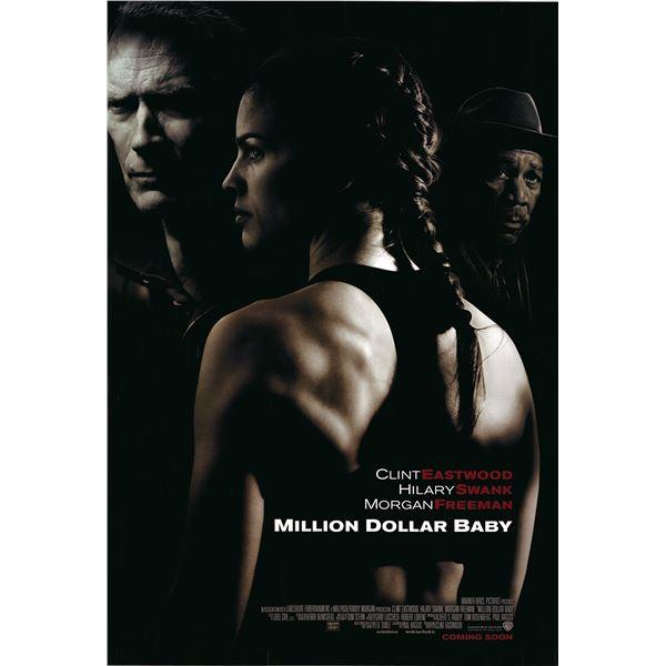 Million Dollar Baby 2004 original one sheet movie poster