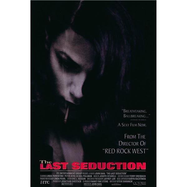 The Last Seduction 1994 original one sheet movie poster