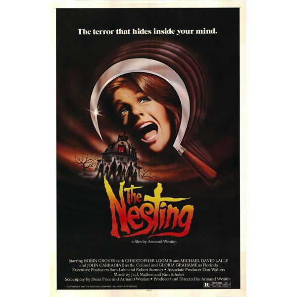 The Nesting 1980 original vintage movie poster