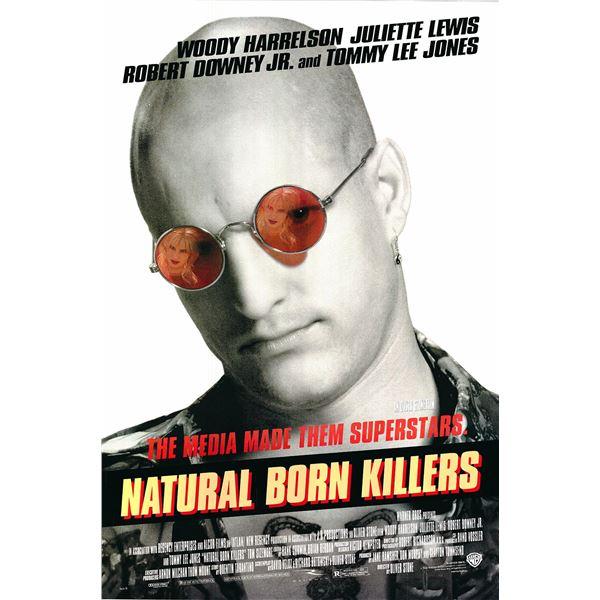 Natural Born Killers 1994 original one sheet movie poster
