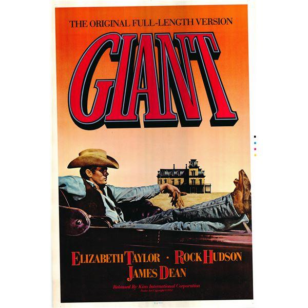 Giant 1982 original vintage movie poster
