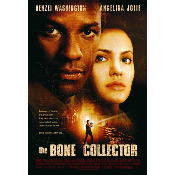 The Bone Collector 1999 original one sheet movie poster