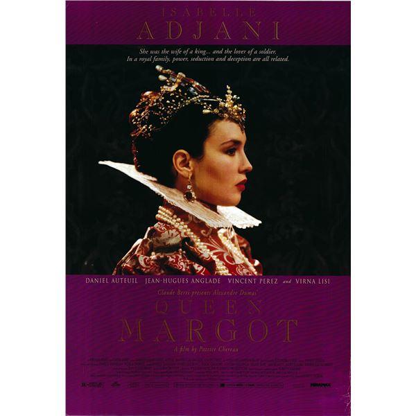 Queen Margot 1994 original one sheet movie poster