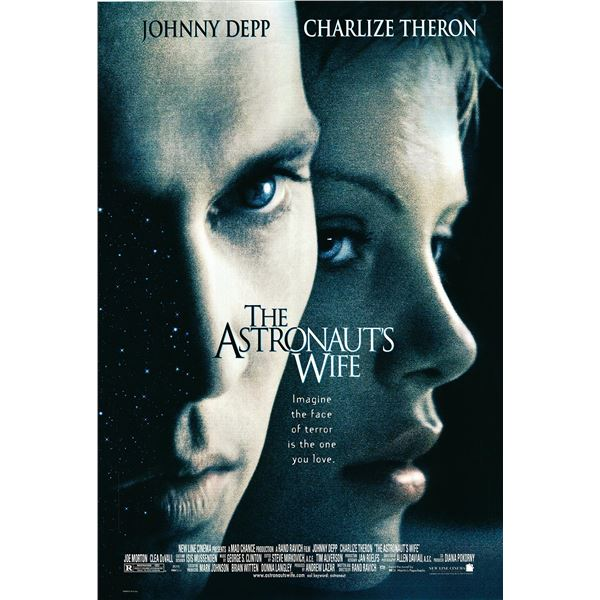 The Astronaut's Wife 1999 original one sheet movie poster