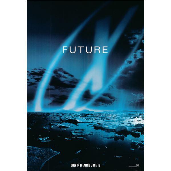 X-Files: Fight the Future 1998 original movie poster