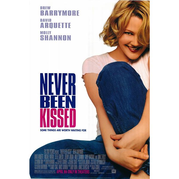 Never Been Kissed 1999 original one sheet movie poster