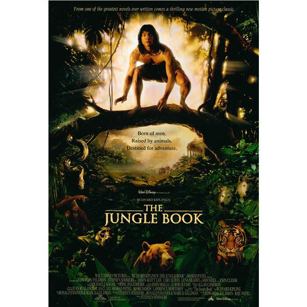 The Jungle Book 1994 original movie poster