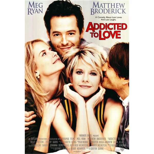 Addicted to Love 1997 original one sheet poster
