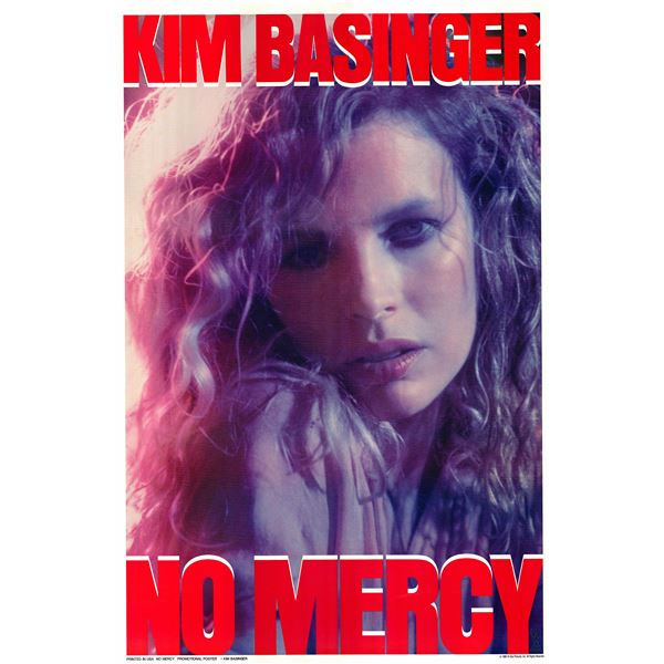 No Mercy 1986 original vintage movie poster