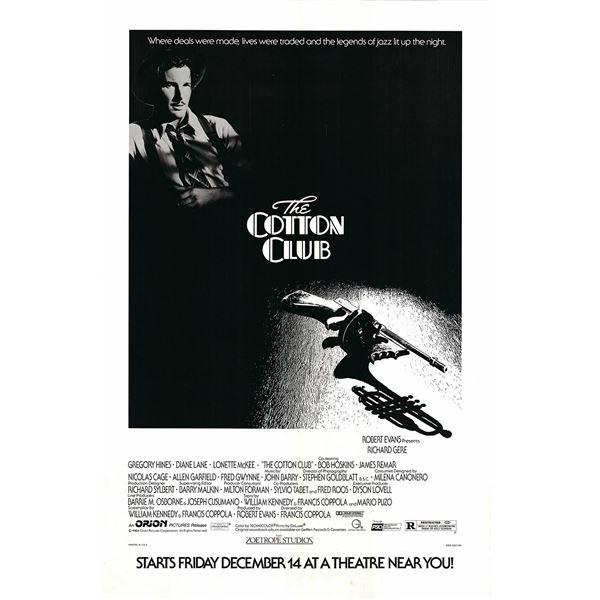 The Cotton Club 1984 original one sheet movie poster