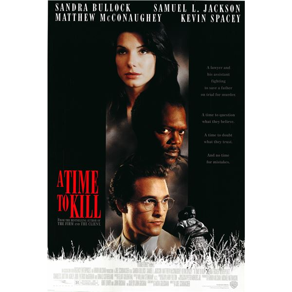 A Time to Kill 1996 original one sheet movie poster