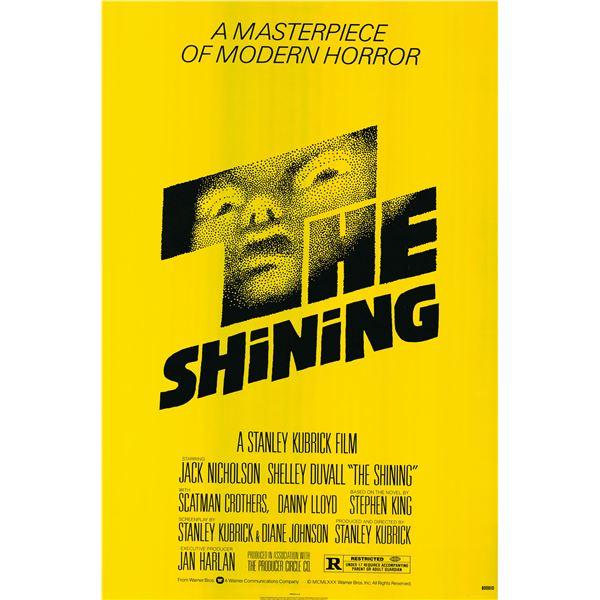The Shining 1981 original vintage one sheet poster