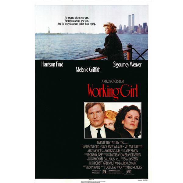 Working Girl 1988 original vintage movie poster