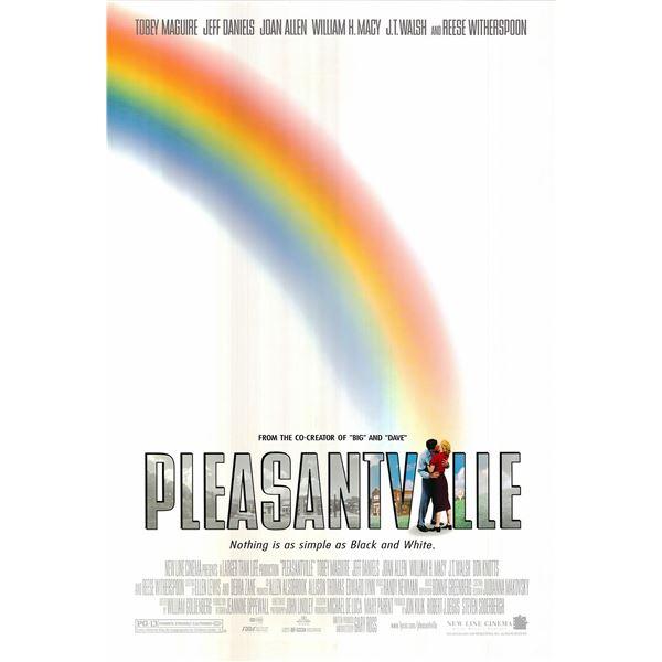 Pleasantville 1998 original advance one sheet movie poster