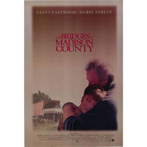 The Bridges of Madison County 1995 original one sheet movie poster