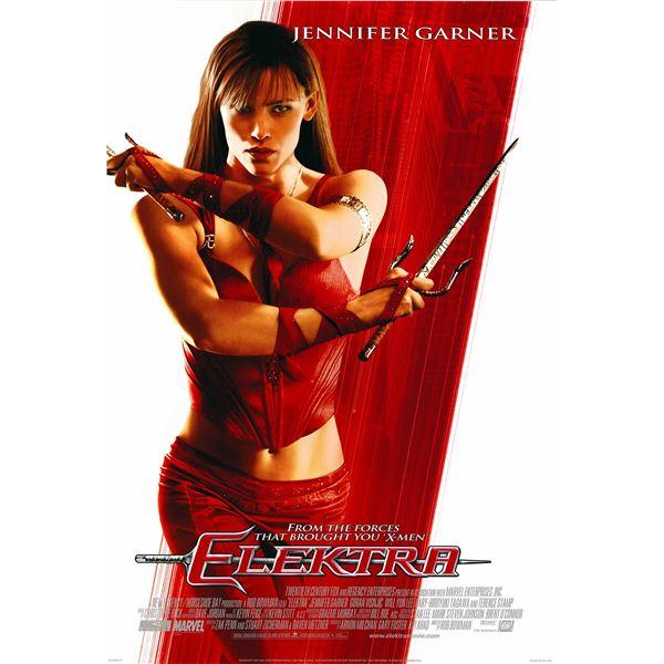Elektra 2005 original one sheet movie poster