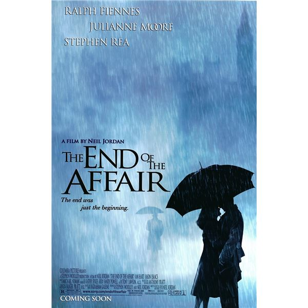 The End of the Affair 1999 original one sheet movie poster