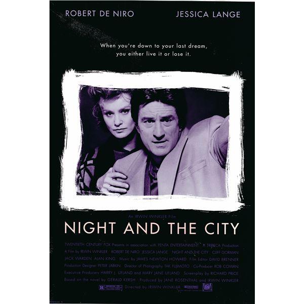 Night and the City 1992 original movie poster