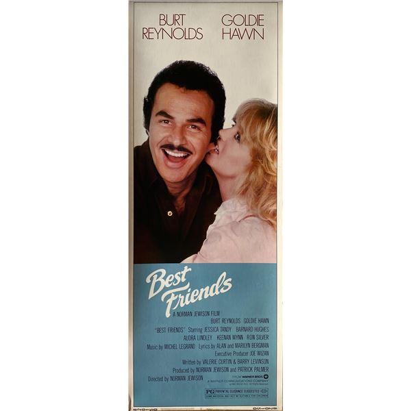 Best Friends 1982 original vintage insert card