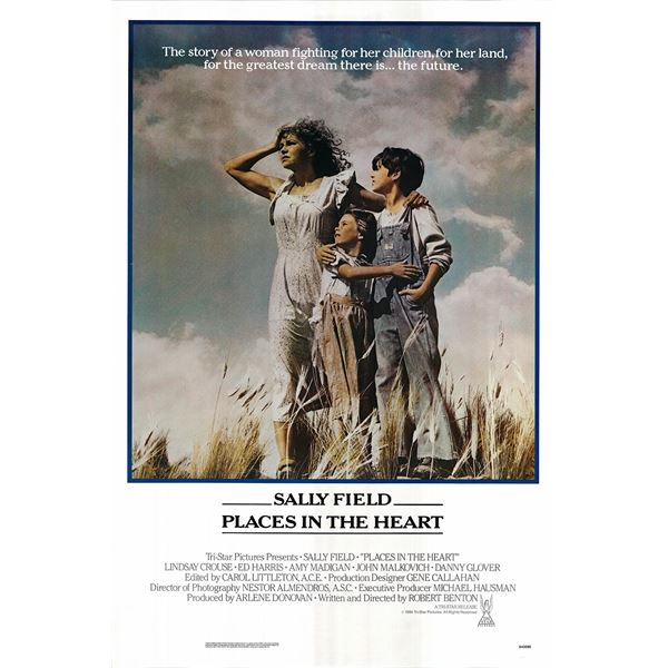 Places in the Heart 1984 original vintage one sheet poster