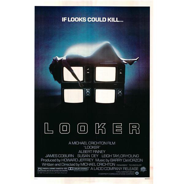 Looker 1981 original vintage one sheet movie poster