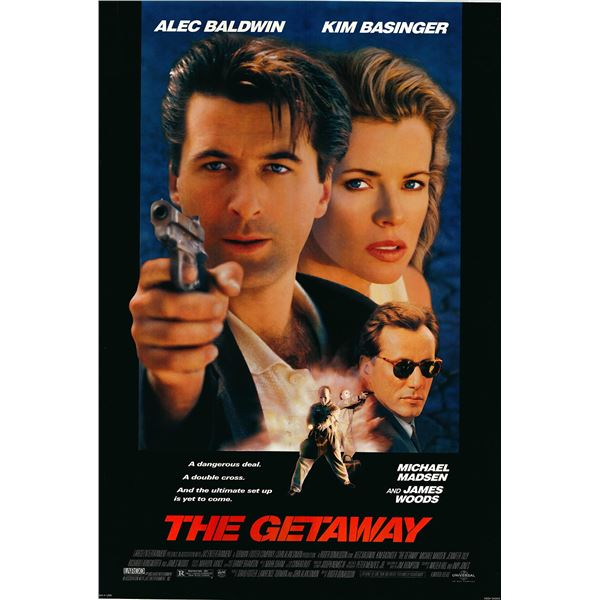 The Getaway 1993 original one sheet movie poster