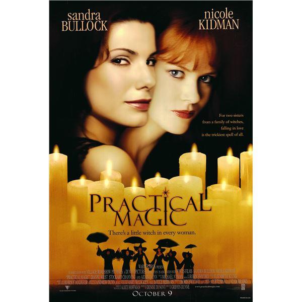Practical Magic 1998 original one sheet movie poster
