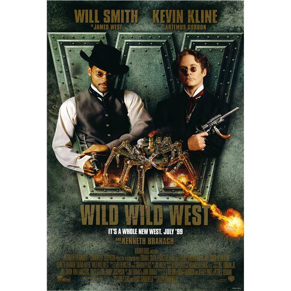 Wild Wild West 1999 original movie poster