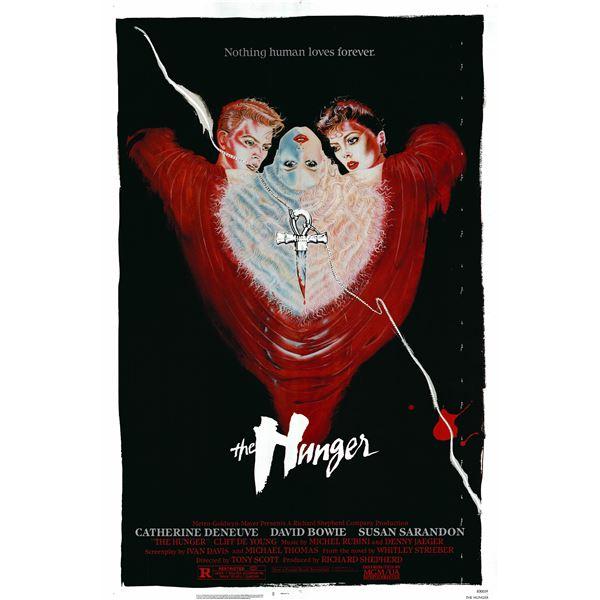 The Hunger 1983 original vintage movie poster