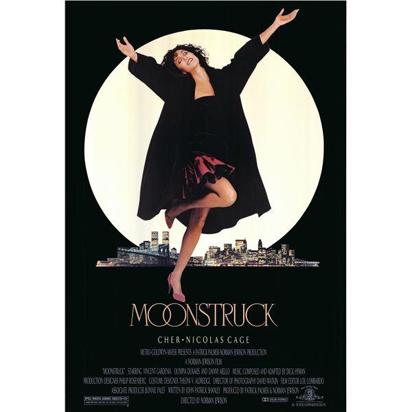 Moonstruck 1987 original vintage movie poster