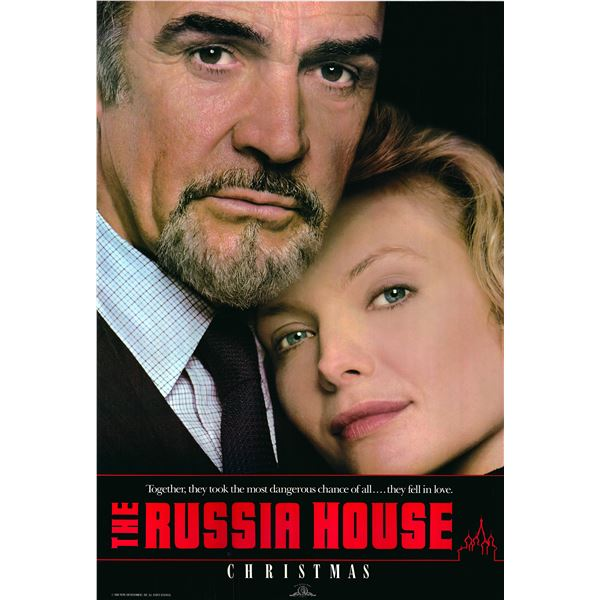 The Russia House 1990 original movie poster