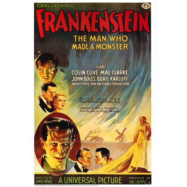 Frankenstein 1993 original movie poster