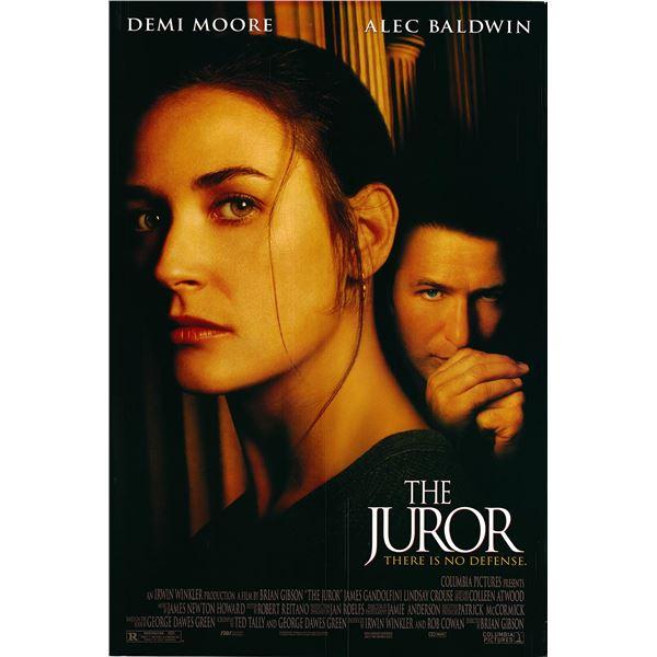 The Juror 1996 original one sheet movie poster