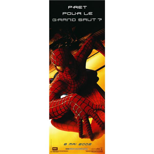 Spider-Man 2001 French pantalon sheet movie poster