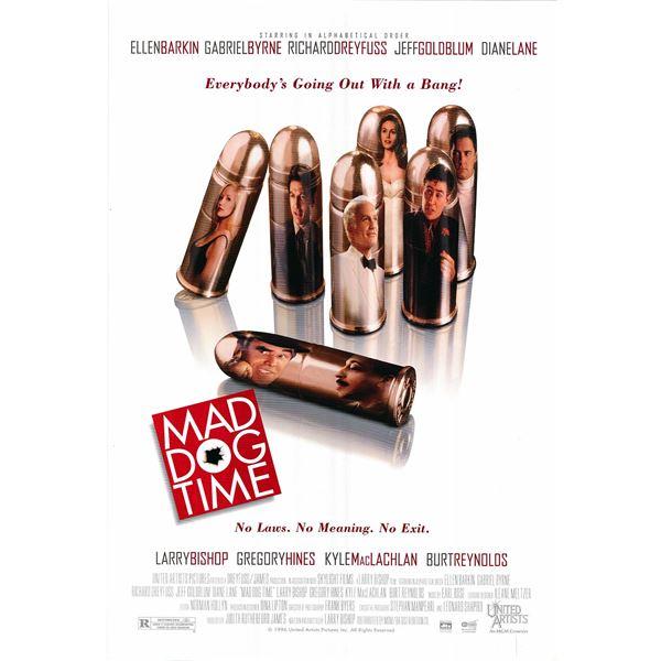 Mad Dog Time 1996 original one sheet movie poster