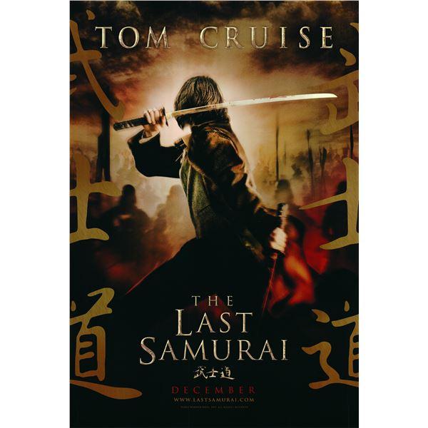 The Last Samurai 2004 original movie poster