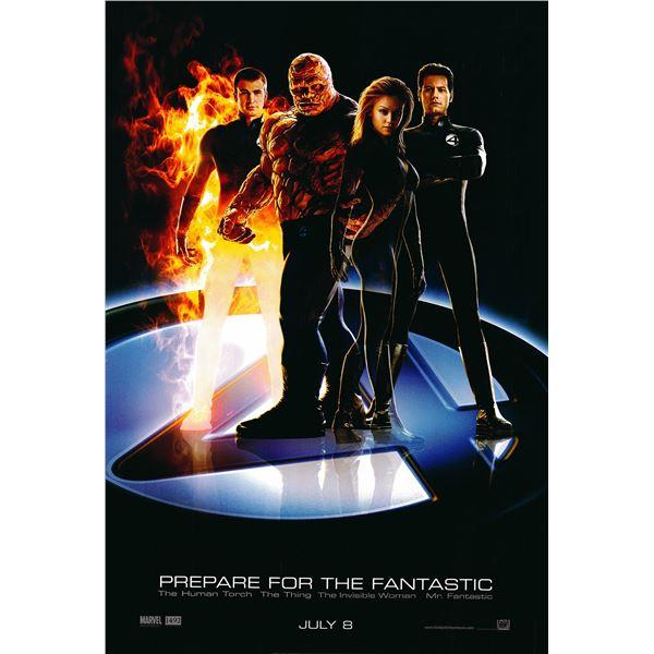 Fantastic 4 2005 original one sheet movie poster