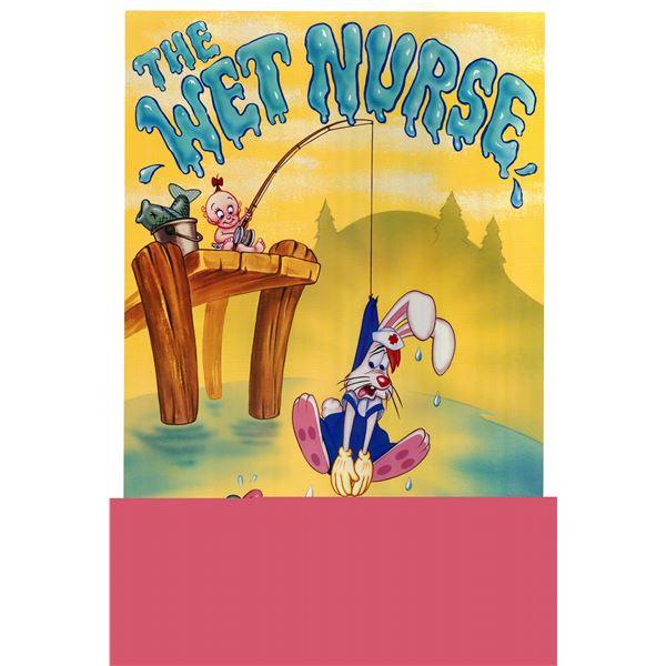 The Wet Nurse Roger Rabbit 1989 original vintage one sheet movie poster