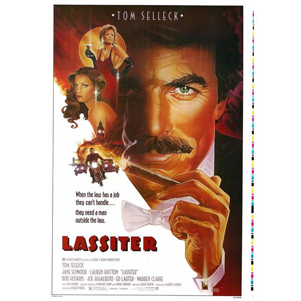 Lassiter 1984 original vintage one sheet movie poster