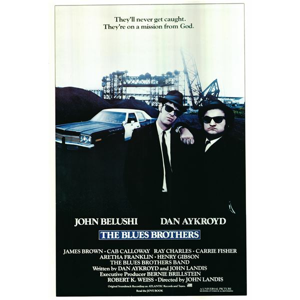 The Blues Brothers 1980 original vintage movie poster
