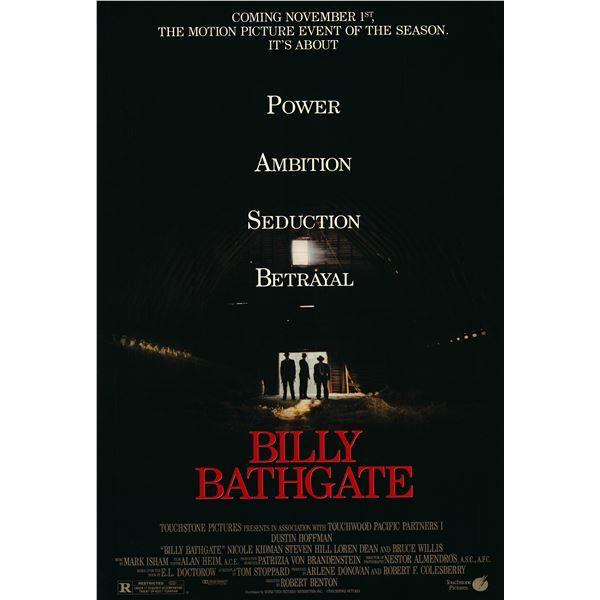 Billy Bathgate 1991 original one sheet poster