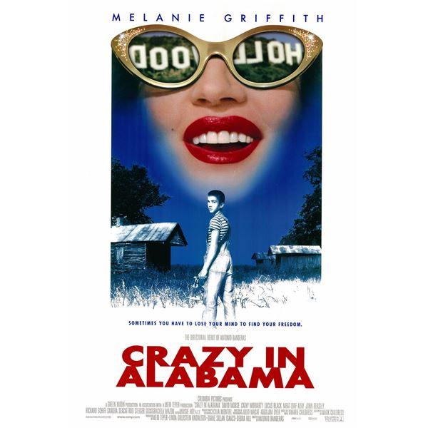 Crazy in Alabama 1999 original one sheet movie poster