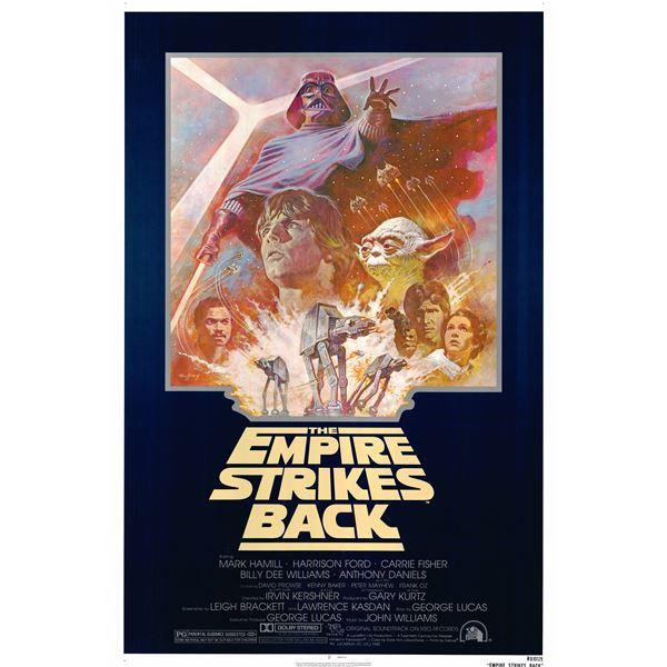 The Empire Strikes Back 1981 original one sheet poster